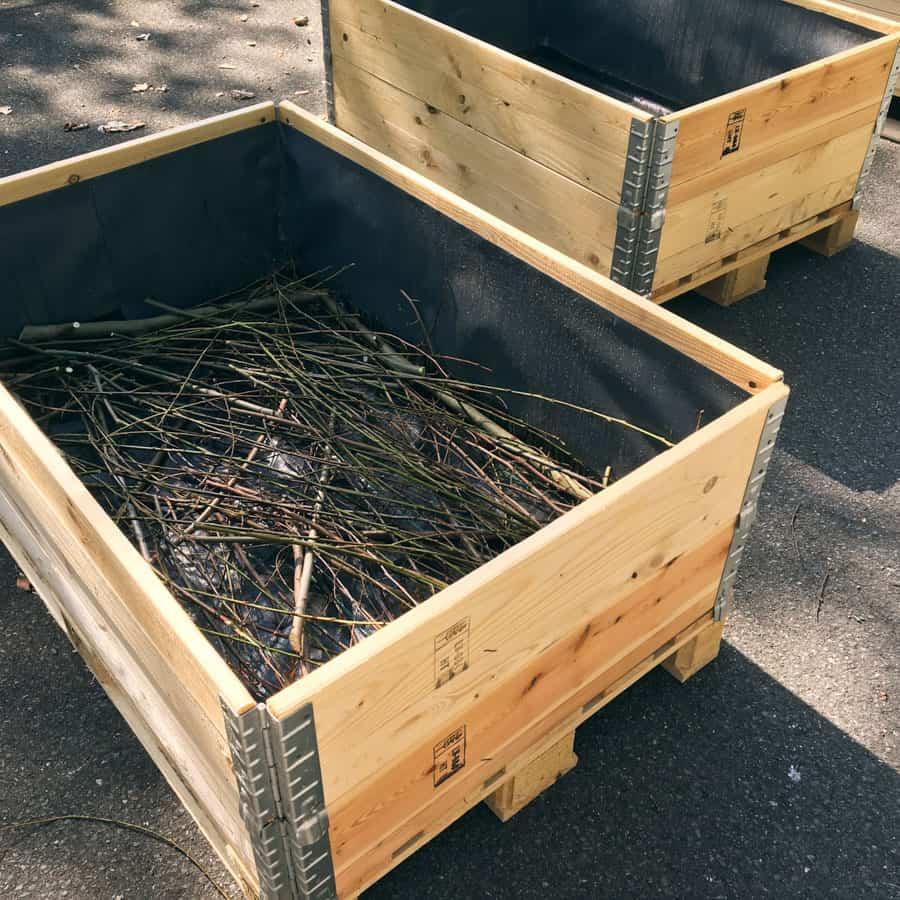 Hochbeet beim awalla Urban Gardening