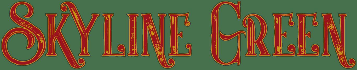 Skyline Green Band Logo